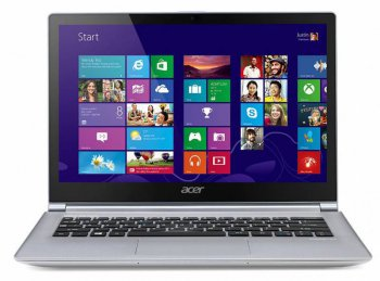 "Ноутбук Acer Aspire S3-392G-74506G1.02Ttws Core i7-4500U/6Gb/1Tb/GF735 1Gb/13.3""/HD/Touch/1366x768/Win 8.1 SL 64/white/BT4.0/3c/WiFi/Cam"