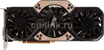Видеокарта Palit PCI-E nVidia GTX780 JETSTREAM GeForce GTX 780 3072Мб 384bit GDDR5 954/6008 DVI*2/HDMI/DP/HDCP RTL