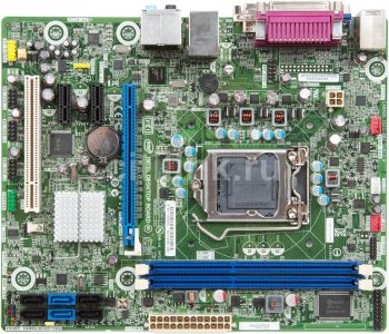 Материнская плата INTEL DH61BE B3 Soc-1155 iH61 DDR3 mATX Audio 7.1 DVI-D+VGA LAN (bulk)