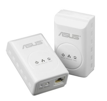 Адаптер Powerline (HomePlug) ASUS PL-X32M 1xEthernet Port&HomePlugAV Kit(2pcs)