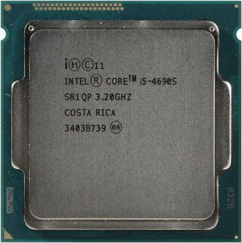 Процессор Intel Core i5-4690S 3.2 GHz/4core/SVGA HD Graphics 4600/1+6Mb/65W/5 GT/s LGA1150