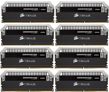 Оперативная память DDR4 8x8Gb 2400MHz Corsair (CMD64GX4M8A2400C14) unbuffered Ret