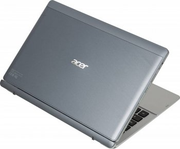 "Ноутбук Acer Aspire SW5-111-12V4 Atom Z3745/2Gb/SSD32Gb/Intel HD Graphics/11.6""/IPS/Touch/FWXGA (1366x768)/Windows 8.1 32/silver/WiFi/BT/Cam"