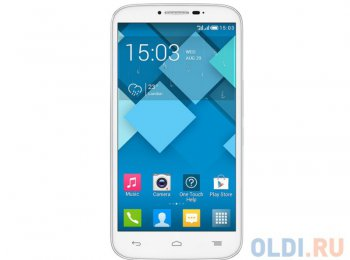 "Смартфон Alcatel OT7047D POP C9 Full White 2SIM/5.5"" IPS 540x960 /1.3GHz/8Mpx/GPS/Android4.2/2500 мАч"