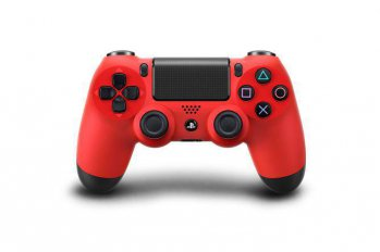 Джойстик Sony PlayStation 4 PS719201199 Dualshock красный
