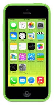 Чехол (клип-кейс) Apple для Apple iPhone 5c MF037ZM/A зеленый (MF037ZM/A)