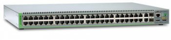 Коммутатор Allied Telesis (AT-8100S/48-50) 48-портов 10/100BASE-T Managed Stackable Fast Ethernet . Dual AC Power Supply