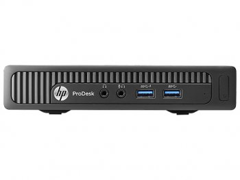Системный блок HP ProDesk 600 mini PC P G3220T/4Gb/500Gb/Free DOS/клавиатура/мышь