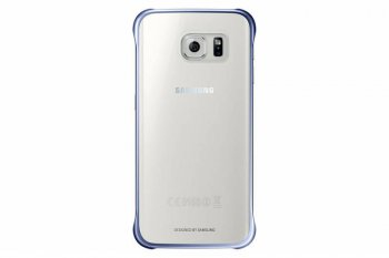Чехол Samsung для Samsung Galaxy S6 Edge Clear Cover черный (EF-QG925BBEGRU)