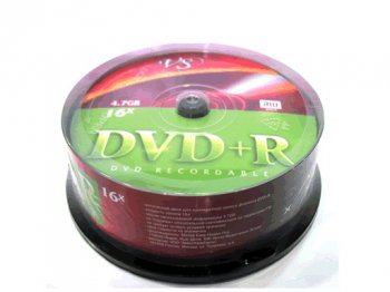 Диск DVD-R 4,7 GB VS 16x Shrink/25