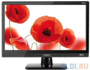 "Телевизор-LCD Telefunken 15.6"" TF-LED15S27 черный/HD READY/50Hz/USB (RUS)"