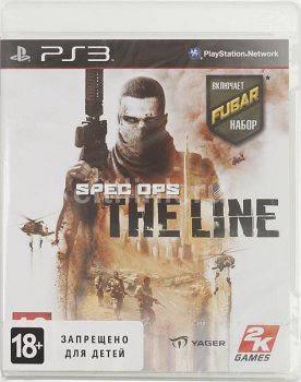 Игра для Sony PlayStation 3 Spec Ops: the Line rus doc