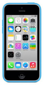Чехол (клип-кейс) Apple для Apple iPhone 5c MF035ZM/A голубой (MF035ZM/A)