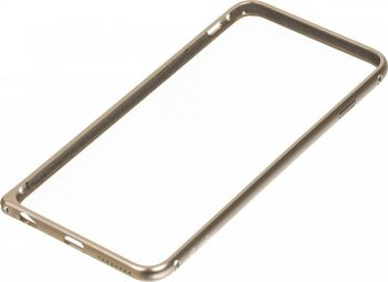 Чехол Melkco для Apple iPhone 6 Plus Q Arc Aluminum золотистый (APIP65ALQAGDME)