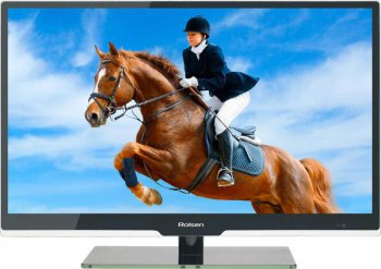 "Телевизор-LCD Rolsen 39"" RL-39D1307 black HD READY USB MediaPlayer (RUS)"