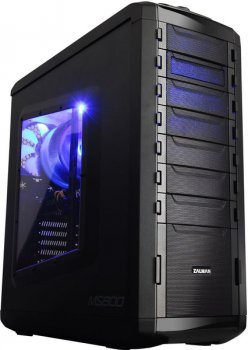 Корпус Zalman MS800 plus черный w/o PSU ATX SECC 3*120mm fan 2*92mm fan 2*USB2.0 2*USB3.0 audio HD screwless bott PSU
