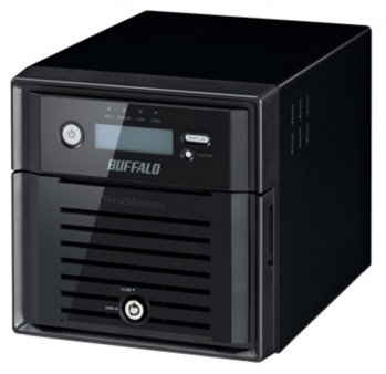 Сетевое хранилище Buffalo (TS4200D-EU) NAS TeraStation 4200 diskless/2 bay/2xGE/2.13GHz/2GB RAM/USB3.0