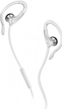 Наушники с микрофоном Puma PRO PERFORMANCE SPORT BUDS CLIP ON EARBUDS White w/Mic PMAD6012(WHT)