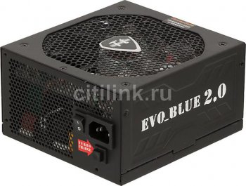 Блок питания Thermaltake ATX 650W EVO-650MPCGEU 80+ Gold APFC, 140mm blue led Fan, Cab Manag, RTL
