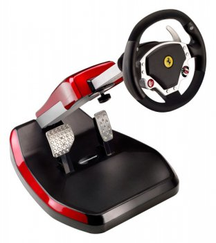 Руль Thrustmaster Ferrari Wireless GT Cockpit 430 Scuderia PS3 (4160545)