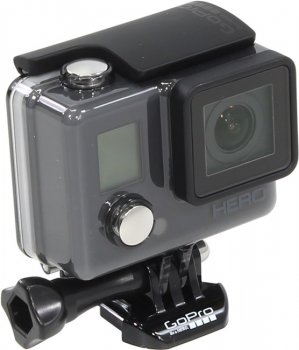 Экшн-камера GoPro HERO <CHDHA-301> (Full HD, 5Mpx, CMOS, Ultra Wide, microSD, Li-Ion)