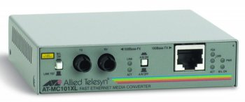 Медиаконвертер Allied Telesis (AT-MC101XL) 100TX (RJ-45) to 100FX (ST) Fast Ethernet