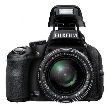 "Фотокамера FujiFilm FinePix HS50EXR black 16Mpix Zoom42x 3"" 1080p SDXC EXR CMOS IS opt turLCD VF RAW 30fr/s HDMI Li-Ion"