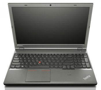 "Ноутбук Lenovo ThinkPad T540p Core i3-4100M/4Gb/500Gb/8Gb SSD/int/15.6""/HD/Win 7 Professional 64 + Win 8.1 Pro 64/black/6c"