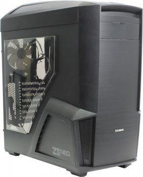 Корпус Miditower ZALMAN < Z11 NEO > Black ATX без БП, с окном