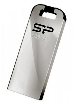 Накопитель USB Silicon Power 8Gb Jewel J10 SP008GBUF3J10V1K USB3.0 серебристый