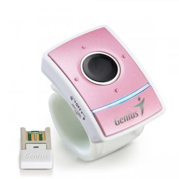 Мышь беспроводная Genius Presenter pink wireless (1250dpi) 5but