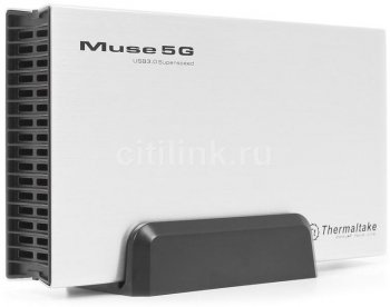 "Внешний бокс HDD Thermaltake ST0042Е Muse 5G 3.5"" USB3.0 Silver"