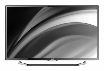 "Телевизор-LCD JVC 50"" LT50M640 AIR stand glossy black FULL HD USB DVB-T2/C (RUS) Android Smart"