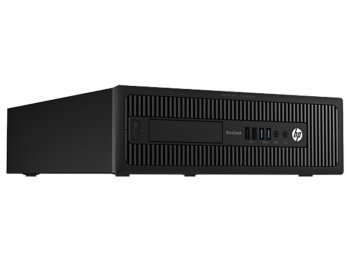 Системный блок HP EliteDesk 800 SFF i3 4160/4Gb/500Gb/DVDRW/Windows 8 Professional 64 dwnW7Pro64/клавиатура/мышь