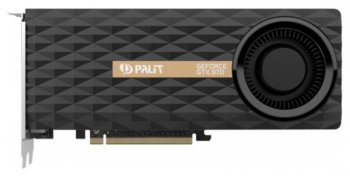 Видеокарта Palit PCI-E PA-GTX970-4GD5 nVidia GeForce GTX 970 4096Мб 256bit GDDR5 1051/7000 DVIx1/mDVIx1/mDPx3/HDCP Ret