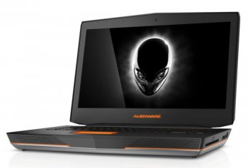 "Ноутбук Dell Alienware 18 i7-4940MX (3.1)/32G/1T+256G SSD/18,4""FHD/NV Dual GTX880M 8G/BluRay/BT/Win8.1 (A18-9288) (Silver)"