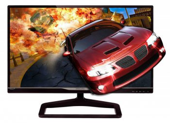 "Монитор Philips 23"" 238G4DHSD/01 Black Cherry IPS LED 14ms 16:9 2xHDMI 3D 10M:1 250cd 3D Glasses"