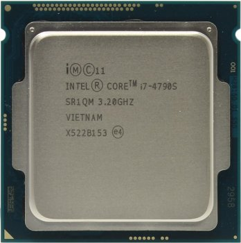 Процессор Intel Core i7-4790S BOX 3.2 GHz/4core/SVGA HD Graphics 4600/1+8Mb/65W/5 GT/s LGA1150