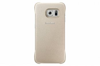 Чехол Samsung для Samsung Galaxy S6 Edge Protective Cover золотистый (EF-YG925BFEGRU)