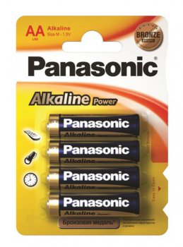 Батарейка Panasonic Power Bronze AA (4шт. уп)