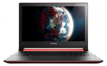 "Ноутбук Lenovo IdeaPad FLEX2-14 Core i3-4030U/4Gb/500Gb/8Gb SSD/HD4400 int/14""/HD/Touch/1366x768/Win 8.1 EM/red/BT4.0/4c/WiFi/Cam"