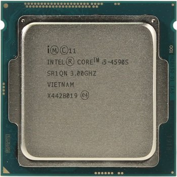Процессор Intel Core i5-4590S 3.0 GHz/4core/SVGA HD Graphics 4600/1+6Mb/65W/5 GT/s LGA1150