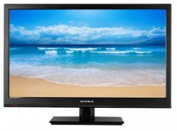 "Телевизор-LCD 18.5"" Supra S-LC19500WL Narrow frame Black HD READY USB MediaPlayer (RUS)"