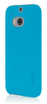 Чехол Incipio для HTC One (M8) Feather Cyan Blue (HT-397-CYN)