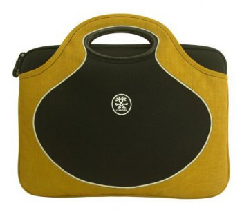 Сумка для ноутбука Crumpler The Gumb Bush M, GB-M-001, mustard / black