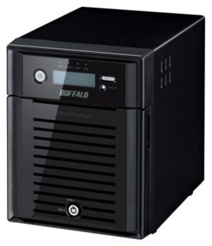 Сетевое хранилище Buffalo TeraStation 5400 Windows Storage Server 2012 (WS5400D0404-EU) SATA 4x1Tb 7.2K 1Ctrl Ethernet RAID 0/1/5/JBOD
