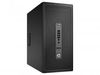 Системный блок HP EliteDesk 705 G1 MT A10 6800B/8Gb/SSHD180Gb/DVDRW/Windows 8 Professional 64/клавиатура/мышь