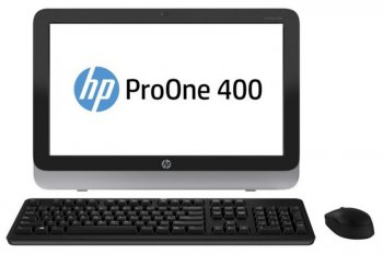 "Моноблок HP ProOne 400 AIO 21.5"" HD Touch i5 4570T/4Gb/500Gb/DVDRW/W8.1Prodng/WiFi/BT/клавиатура/мышь"