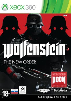 Игра для Xbox Soft Disk Wolfenstein: The New Order русские субтитры