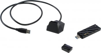 Адаптер беспроводной связи ASUS USB-AC55 Dual-Band Wireless USB Adapter (RTL) (802.11a/b/g/n/ac, 867Mbps, USB3.0)
